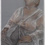 Celeste Dewent pencil on archival painted Bristol vellum 2