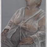 Celeste Dewent pencil on archival painted Bristol vellum 2