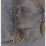 Elizabeth Derwent pencil on painted archival bristol vellum