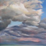 Sky Lake 10 oil on canvas 48 x 36 inches