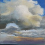Sky Lake 6 oil on canvas 12 x 9 inches