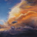 Sky Lake 9 oil on canvas 48 x 36 inches