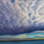 Sky Lake oil on canvas 40 x 60 inches