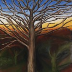 Tree of Life 2 oil on canvas-36-x-24-inches