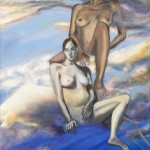 We Are the Air We Breathe, oil on canvas, 48 x 36 inches